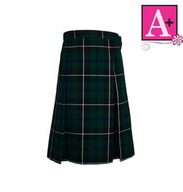 School Apparel A+ Columbia Plaid 4-pleat Skirt #1034PP