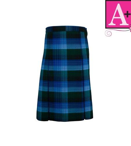 School Apparel A+ Douglas Plaid 4-pleat Skirt #1034PP