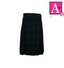 School Apparel A+ Blackwatch Plaid 4-pleat Skirt #1034PP