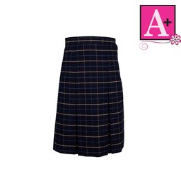 School Apparel A+ Melrose Plaid 4-pleat Skirt #1034PP