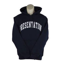 Gildan H20 Navy Blue Hooded Pullover Sweatshirt