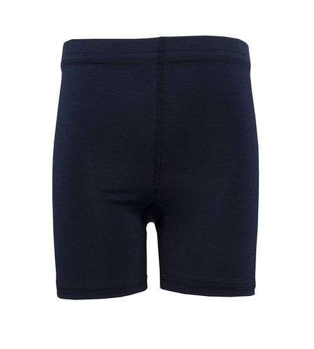 School Apparel A+ Navy Blue Bike Shorts #6211