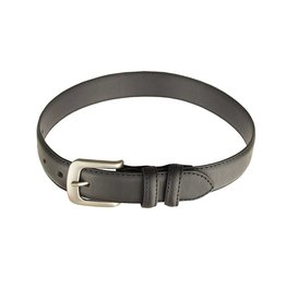 EE Dee Trim Black Leather Belt #FBE166