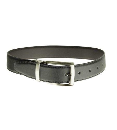 EE Dee Trim Black / Brown Reversible Belt #FBE202