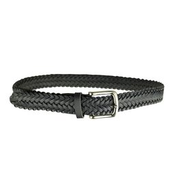 EE Dee Trim Navy Blue Braided Belt #FB33
