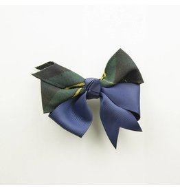 EE Dee Trim Belair Plaid #83 Ribbon Bow #FBE197