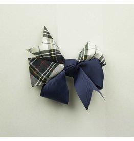 EE Dee Trim Marymount Plaid #8B Ribbon Bow #FBE197