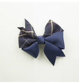 EE Dee Trim Melrose Plaid #6A Ribbon Bow #FBE197