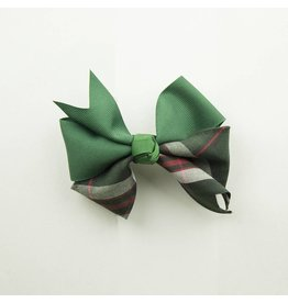 EE Dee Trim Sequoia Plaid Ribbon Bow #FBE197
