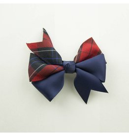 EE Dee Trim Woodland Plaid #94 Ribbon Bow #FBE197