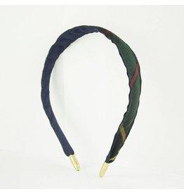 EE Dee Trim Aberdeen Plaid #5L Headband #FBE8