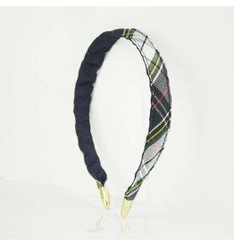EE Dee Trim Marymount Plaid #8B Headband #FBE8