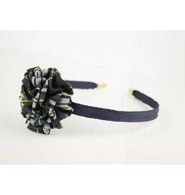 EE Dee Trim Campbell Plaid #61 Rosette Headband #FBE13HB