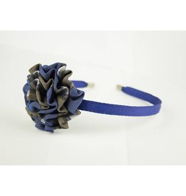 EE Dee Trim Graham Plaid #73 Rosette Headband #FBE13HB