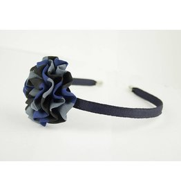 EE Dee Trim Hastings Plaid Rosette Headband #FBE13HB