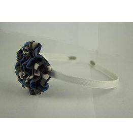 EE Dee Trim Rampart Plaid #29 Rosette Headband #FBE13HB