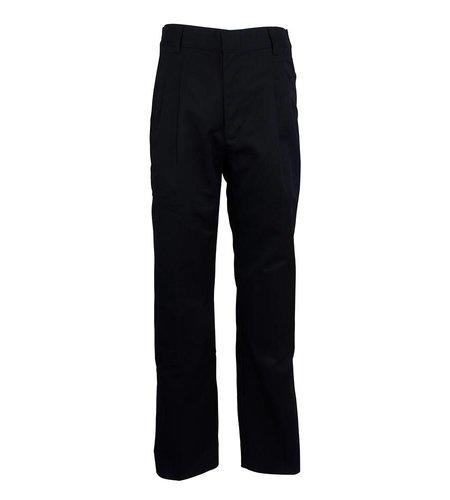 Elder Navy Blue Pleated Pants #1268