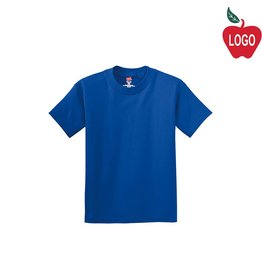 Hanes Royal Blue Short Sleeve Tee #5450
