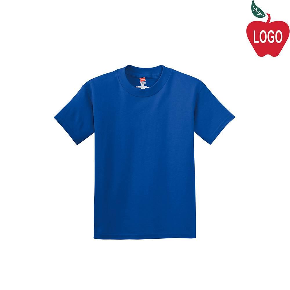c5e9d3292f0e3 Hanes Royal Blue Short Sleeve Tee #5450 - Merry Mart Uniforms