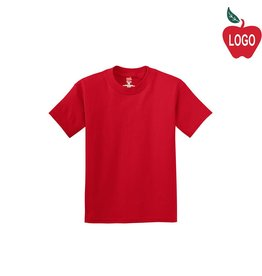 Hanes Red Short Sleeve Tee #5450