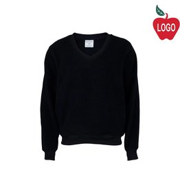 Elder Navy Blue V-Neck Microfleece Jacket #1003