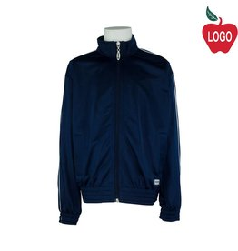 Soffe Adult Medium Navy Blue Track Jacket #3265
