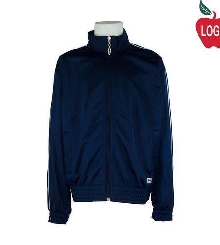 Soffe Adult Medium Navy Blue Track Jacket #3265