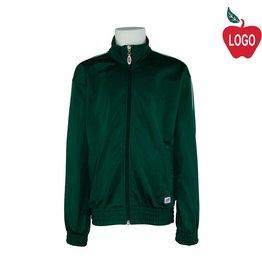 Soffe Youth Medium Green Track Jacket #3265