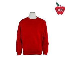 Russell Red Crew-neck Sweatshirt #998