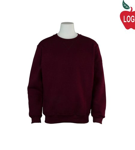 Russell Wine Crew-neck Sweatshirt #998