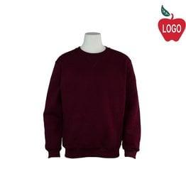 Russell Wine Crew-neck Sweatshirt #998