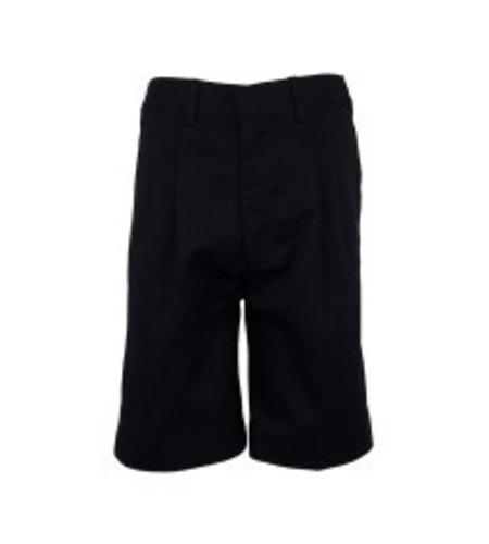 Elder Navy Blue Pleated Walk Shorts #1286
