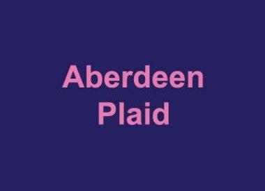 Aberdeen Plaid