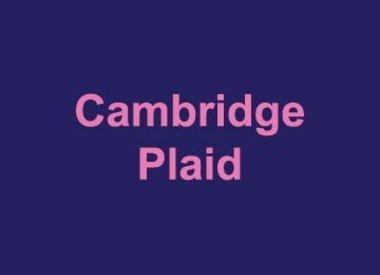 Cambridge Plaid