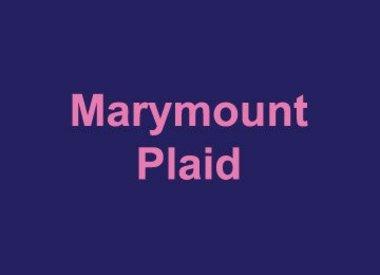 Marymount Plaid