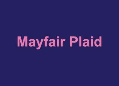 Mayfair Plaid