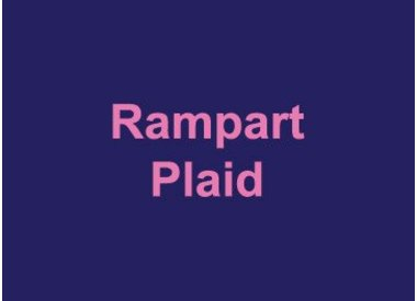 Rampart Plaid