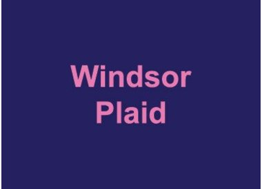 Windsor Plaid