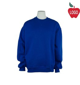 Russell Juvenile Large Royal Blue Crew-neck Sweatshirt #998