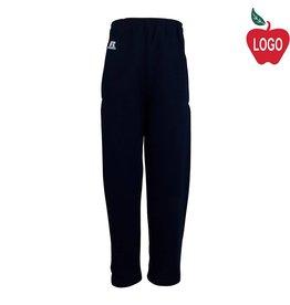 Russell Youth Medium Navy Blue Sweatpants #596