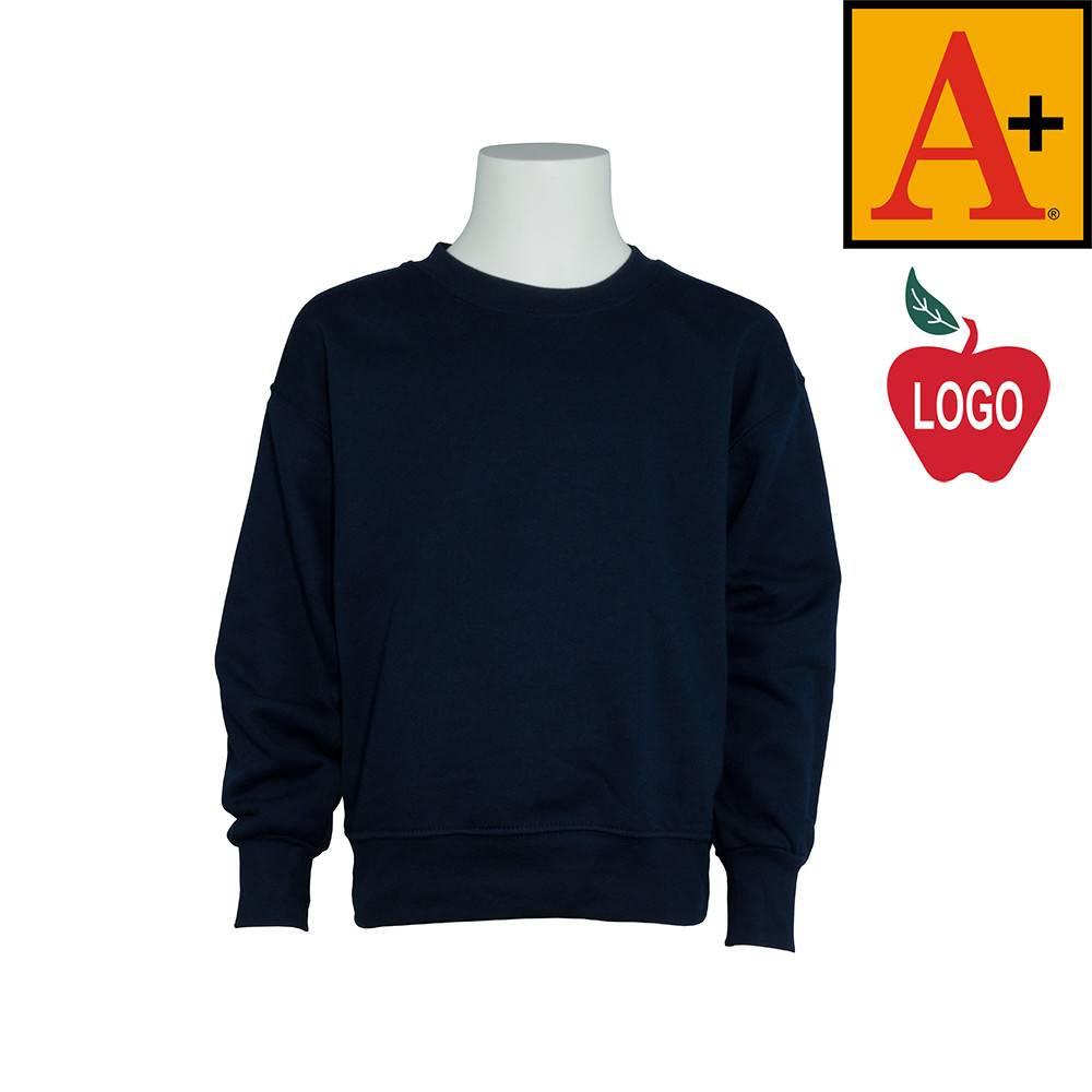 e62ce9363 Navy Blue Crew Neck Sweatshirt 6254 Merry Mart Uniforms