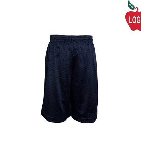 Champion Navy Blue Mesh Athletic Shorts #8173