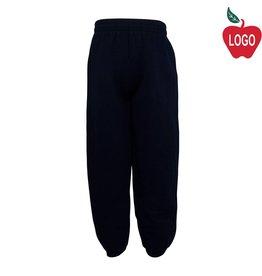 School Apparel A+ Navy Blue Sweatpants #6252