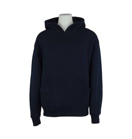 Soffe Navy Blue Hooded Pullover Sweatshirt #9289