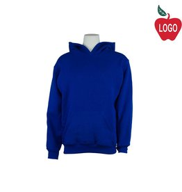 Russell Royal Blue Hooded Pullover Sweatshirt #995