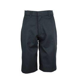 Rifle Charcoal Grey Plain Front Walk Shorts #IG