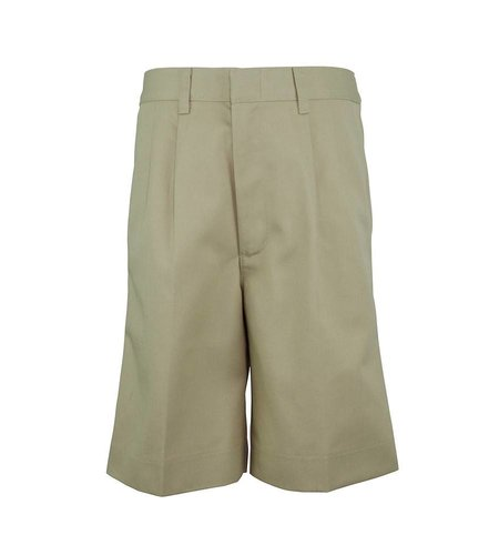 Elder Khaki Pleated Walk Shorts #1286