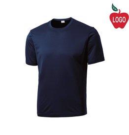 Sport-Tek Navy Short Sleeve Tee #ST350