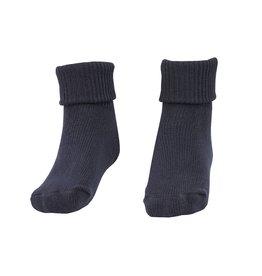 School Apparel A+ Navy Blue Triple Roll Socks #55