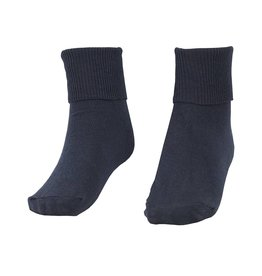 School Apparel A+ Navy Blue Singlet Sock #91